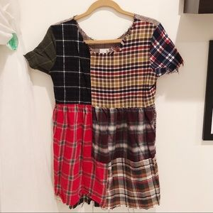 Urban Renewal - plaid dress (Small)
